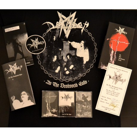 """As The Deadworld Calls - The Desaster Demo Years"" 3-Tape Boxset"